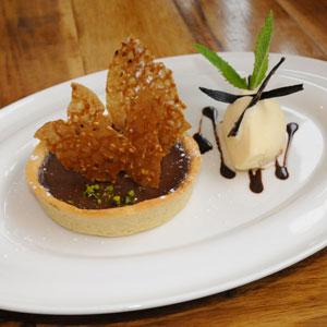 Le Baligan, dessert au chocolat