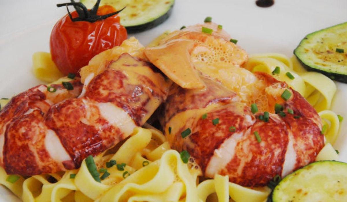 Le Baligan, pâtes de homard