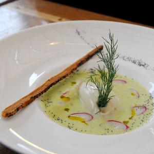 Le Baligan, soupe de poissons et fruits de mer
