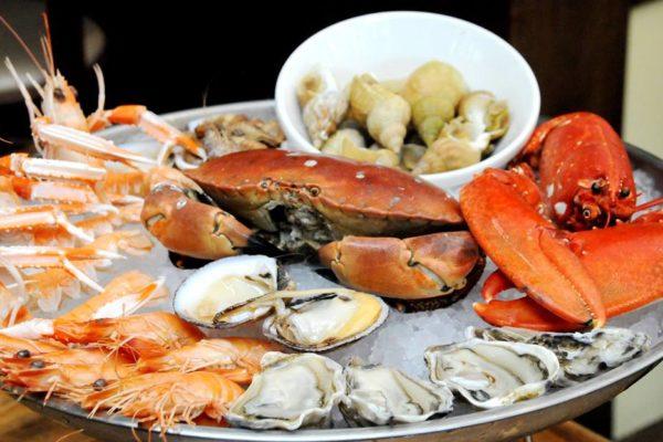 Les bienfaits des coquillages et crustacés