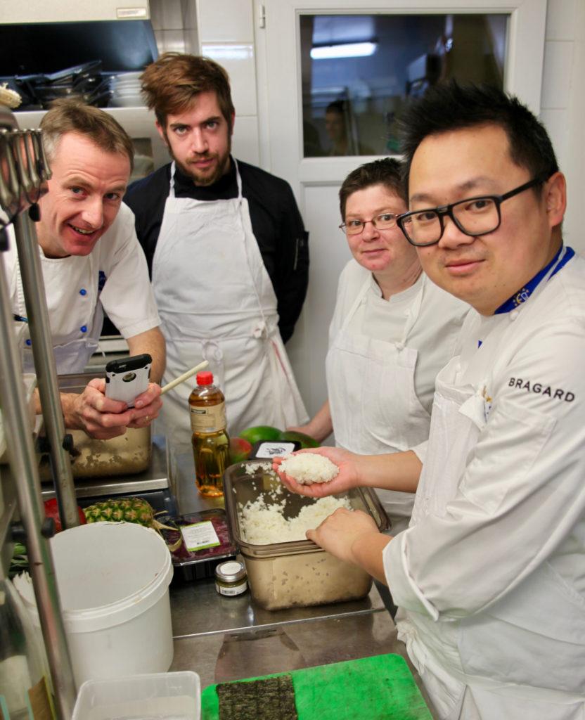 L'équipe du Baligan en compagnie d'Eric TICANA