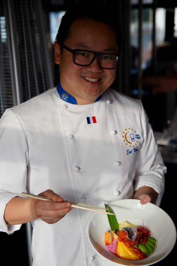 Le maître sushi Eric TICANA