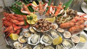 Un autre exemple de plateau de fruits de mer