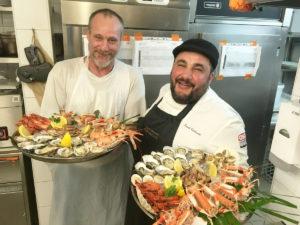 Soirée fruits de mer avec Foued Kaidouchi