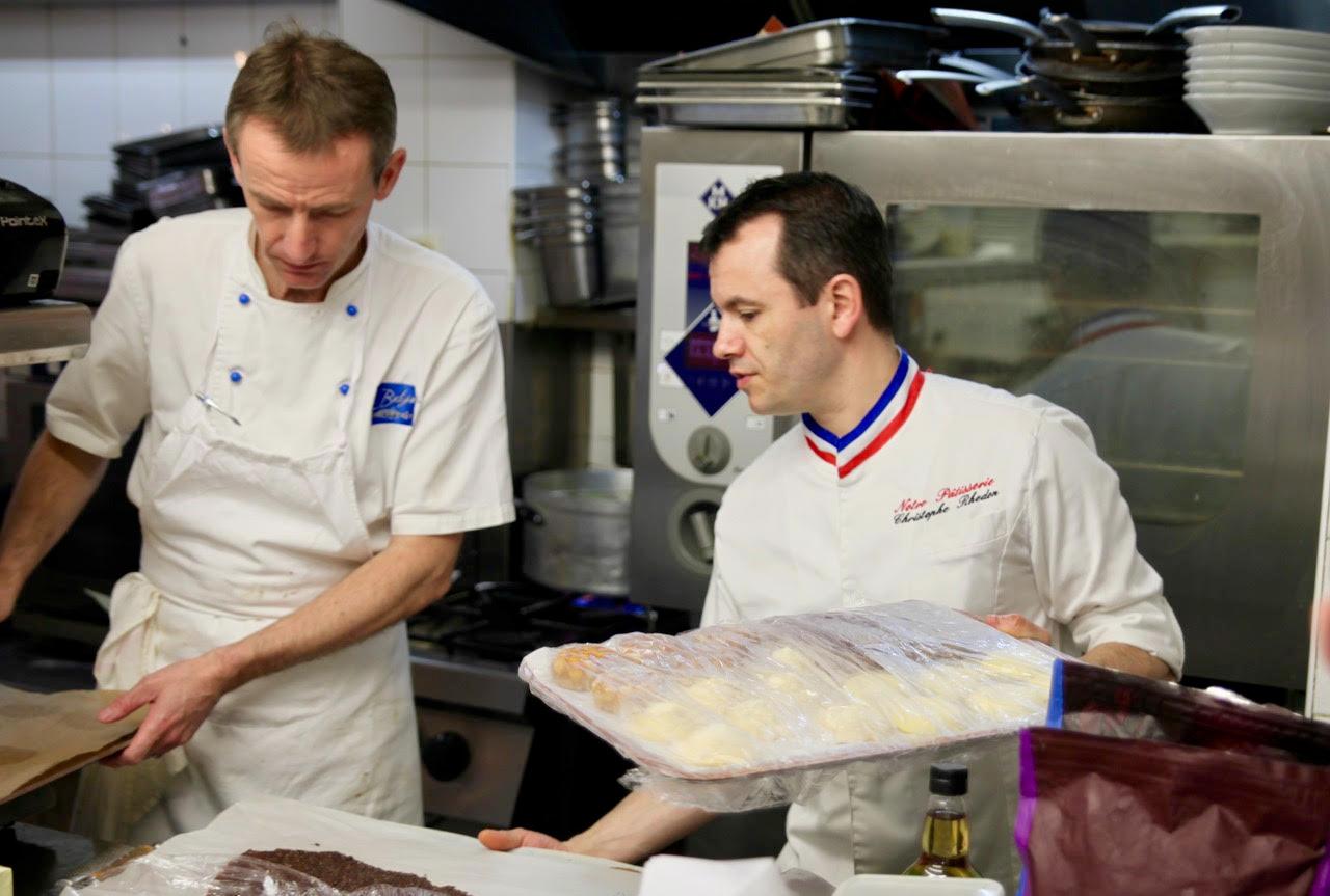 Le chef en pâtisserie
