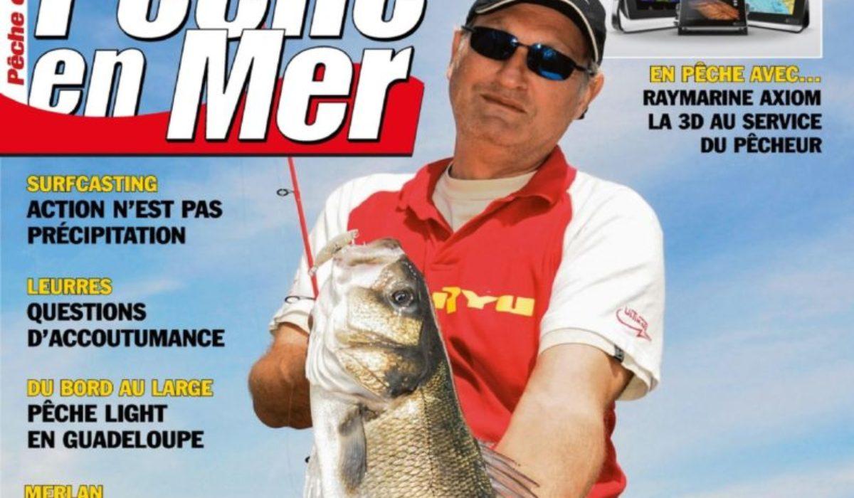 Magazine Pêche en mer où les recettes vont paraître
