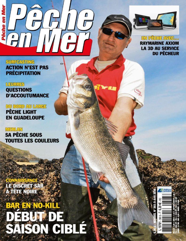 Les recettes du chef dans le magazine Pêche en mer !