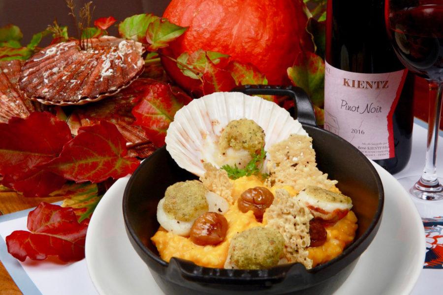 Découvrez notre menu spécial Saint-Jacques
