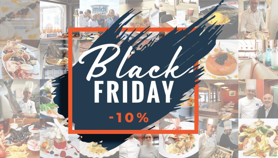 -10% sur vos chèques cadeaux pour le Black Friday !