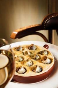 Le Baligan, plat à l'escargots