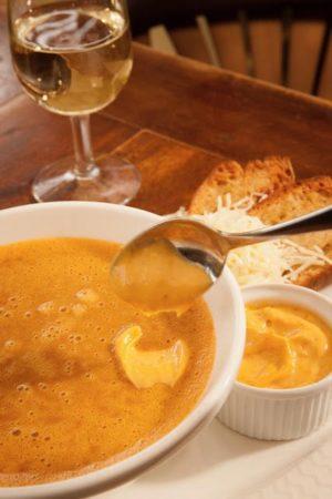 Le Baligan, soupe de poissons