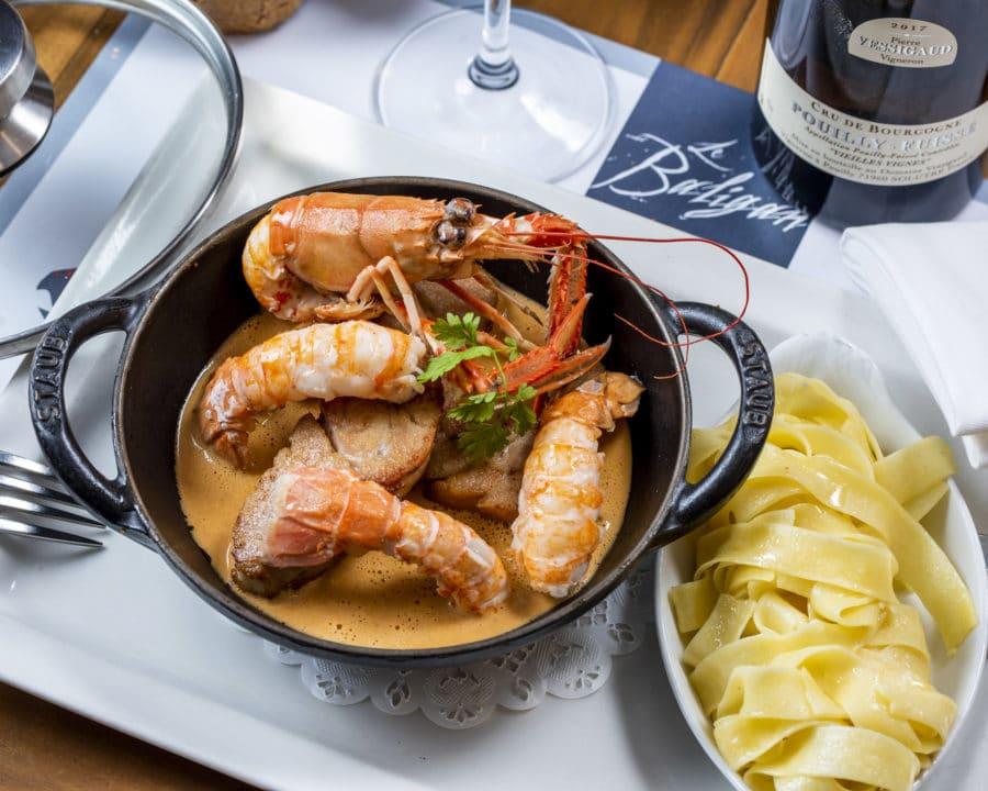 Le Baligan, un restaurant de poisson aux recettes créatives