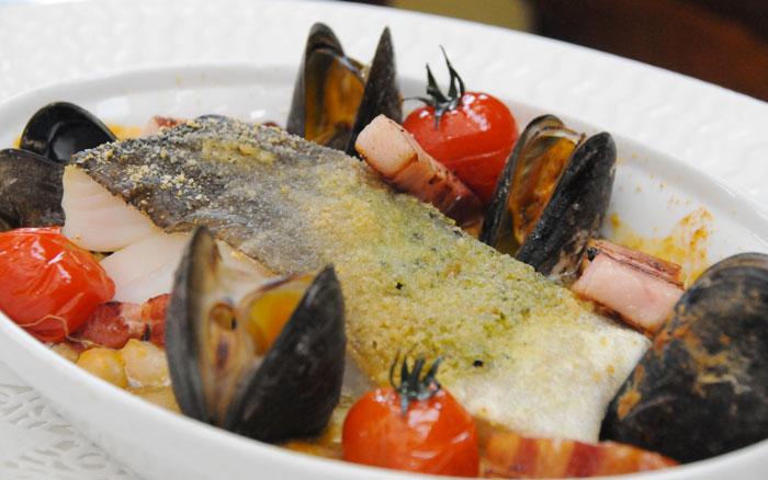 choucroute de mer menu cabourg